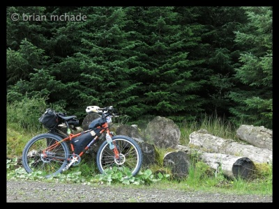Exploring Northumberland on a Surly Troll....